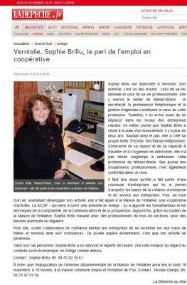 La Dépêche de l'Ariège 09