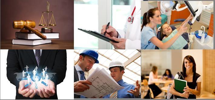 Pour tous professionnels et particuliers : Médecin - Professions paramédicales - Professions juridiques - TPE - PME - Artisans